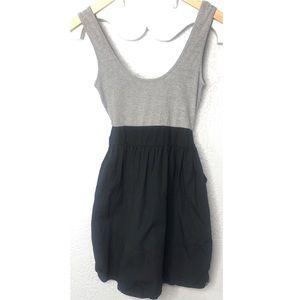 O'Neil gray and black dress S